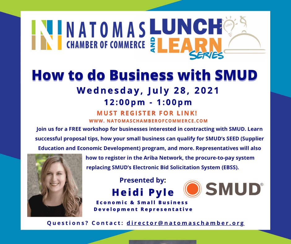 SMUD lunch and learn